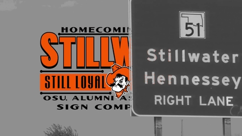 Thumbnail for entry Homecoming 2015: Sign Competition