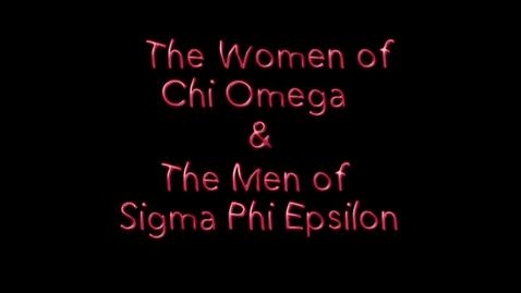 Thumbnail for entry Freshman Follies 2013: Chi Omega/Sigma Phi Epsilon