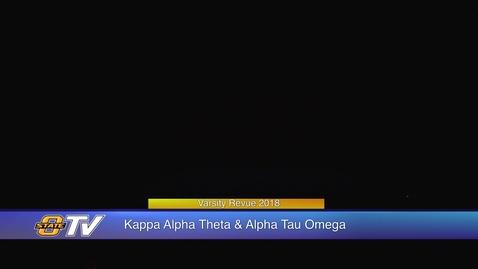 Thumbnail for entry Varsity Revue 2018:  Kappa Alpha Theta & Alpha Tau Omega