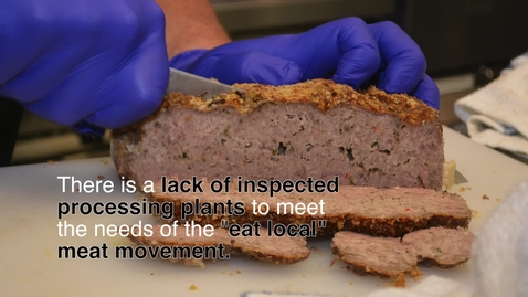 """Thumbnail for entry """"Eat Local"""" Meat Movement"""