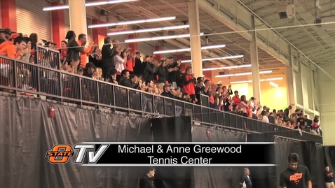 Thumbnail for entry GRAND OPENING:  Michael & Anne Greenwood Tennis Center