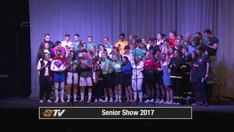 Thumbnail for entry Spring Sing 2017: Senior Show