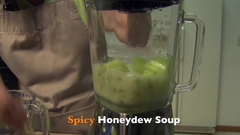 Thumbnail for entry OSU Extension Recipe: Spicy Honeydew Soup