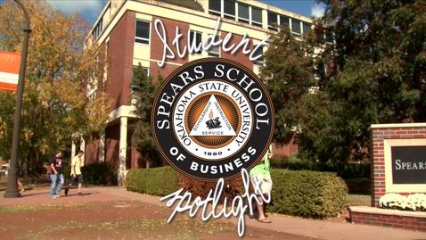 Thumbnail for entry Spears School of Business Student Spotlight: Erin Scanlan