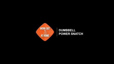 Thumbnail for entry Dumbbell Power Snatch