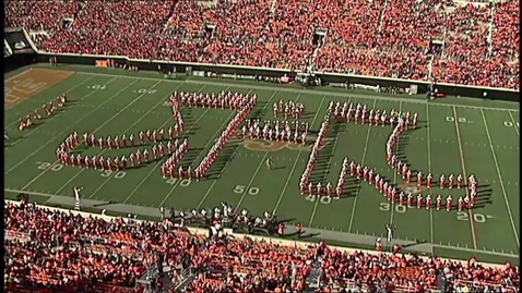 Thumbnail for entry COUNTDOWN TO KICKOFF:  The Cowboy Marching Band
