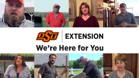 Thumbnail for entry OSU Extension: We're Here for You