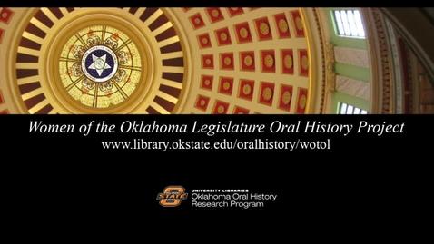 Thumbnail for entry Women of the Oklahoma Legislature featuring Mary Fallin