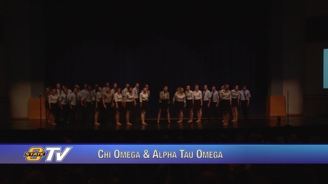 Thumbnail for entry Freshman Follies 2017:  Chi Omega & Alpha Tau Omega