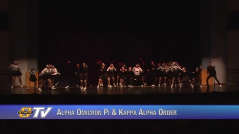 Thumbnail for entry Freshman Follies 2017:  Alpha Omicron Pi & Kappa Alpha Order