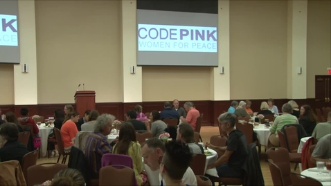 Thumbnail for entry Code Pink with Medea Benjamin