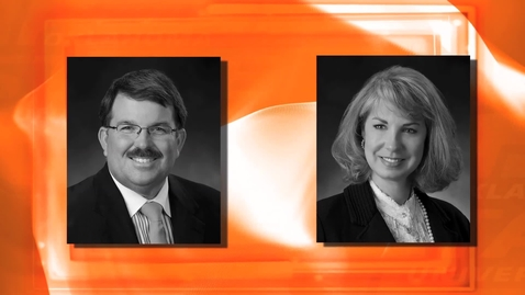 Thumbnail for entry Malone and Amy Mitchell - 2013 OSU Alumni Hall of Fame