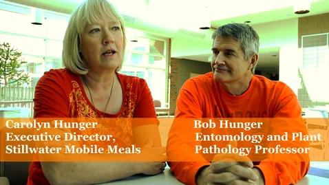 Thumbnail for entry OSU Professor Involved in United Way Mobile Meals