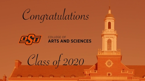 Thumbnail for entry Congratulations CAS Class of 2020