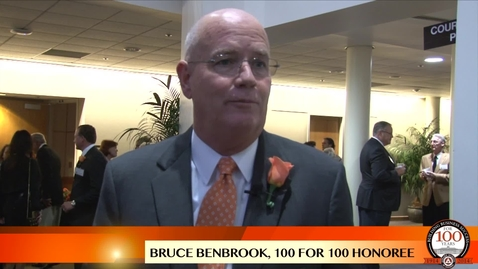 Thumbnail for entry Bruce Benbrook - 100 For 100 Honoree