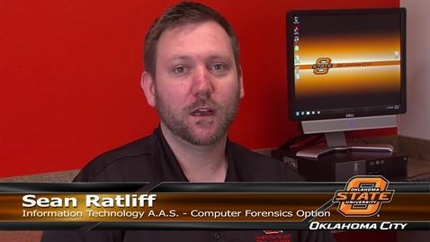 Thumbnail for entry Information Technology Testimonials - Sean