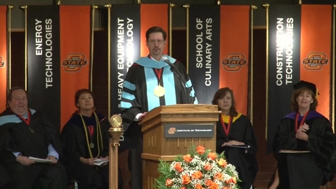 Thumbnail for entry MUST SEE: OSUIT Commencement Highlights Importance of Higher Education