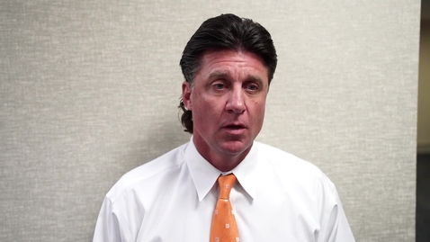 Thumbnail for entry Academy Texas Bowl Preview:  Mike Gundy Speaks to the Media