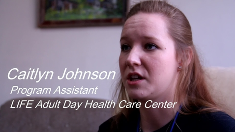 Thumbnail for entry United Way:  OSU Student Assists at Life Adult Day Health Center