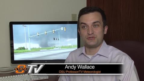 Thumbnail for entry OSU Professor Tracks Moore Tornado