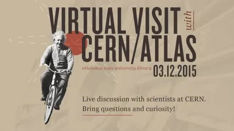 Thumbnail for entry Virtual visit with CERN