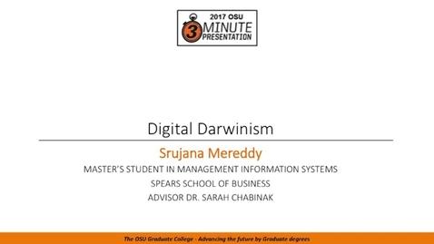 Thumbnail for entry 2017 3MP Finals - Digital Darwinism