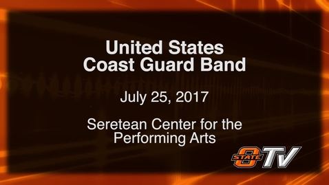 Thumbnail for entry The United States Coast Guard Band visits OSU