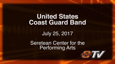 Thumbnail for entry The United States Coast Guard Band visits OSU