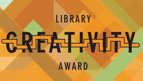 """Thumbnail for entry Library Creativity Award: William Davis """"Vapor Reality v0.3"""""""
