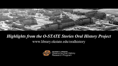 Thumbnail for entry An Oklahoma A&M Love Story