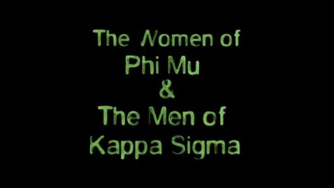 Thumbnail for entry Freshman Follies 2013: Phi Mu/Kappa Sigma