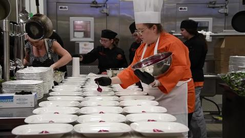 Thumbnail for entry A Look at Chef Event with Chef Miranda Kaiser