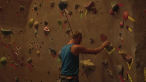 Thumbnail for entry Climbing at the Colvin