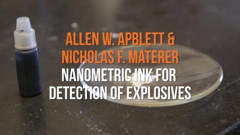 Thumbnail for entry Faculty Conversations: Drs. Allen Apblett and Nicholas Materer
