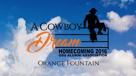 Thumbnail for entry Homecoming 2016: Dyeing the Fountain in 60 Seconds