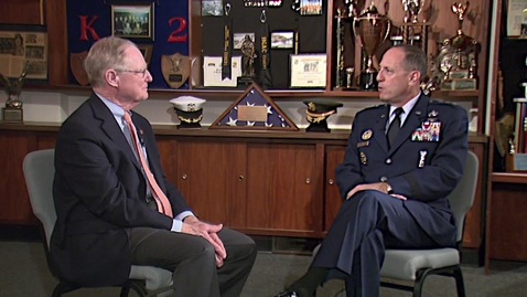 Thumbnail for entry Inside OSU:  Extended Interview with Lt. General Lee Levy
