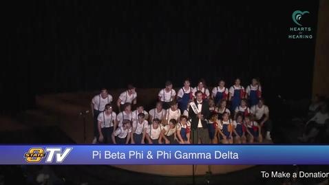 Thumbnail for entry 2016 Freshman Follies: Pi Beta Phi & Phi Gamma Delta