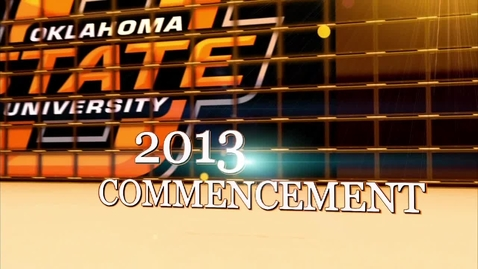 Thumbnail for entry SPRING 2013 4:30pm COMMENCEMENT CEREMONY:  Processional, Introductions and Keynote Address