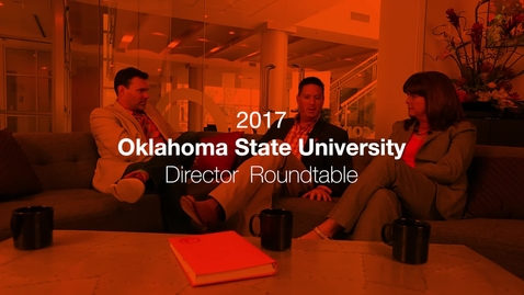 Thumbnail for entry Directors Cut:  Behind the Scenes of the 2017 Oklahoma State National Commercial Spot