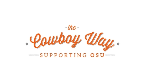 Thumbnail for entry The Cowboy Way Faculty & Staff Drive 2017