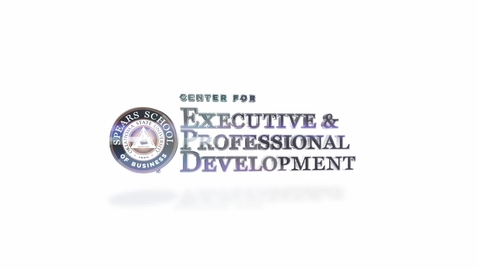 Thumbnail for entry What is the Center for Executive and Professional Development?