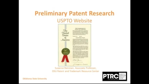 Thumbnail for entry Preliminary Patent Research