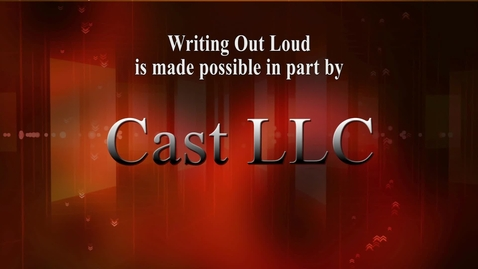 Thumbnail for entry Writing Out Loud: Will Thomas (Original air date 10/20/14)