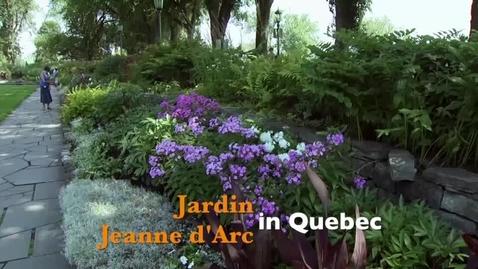 Thumbnail for entry Oklahoma Gardening: Jardin Jeanne d'Arc in Quebec