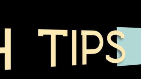 Thumbnail for entry Tech Tips: CTRL+F