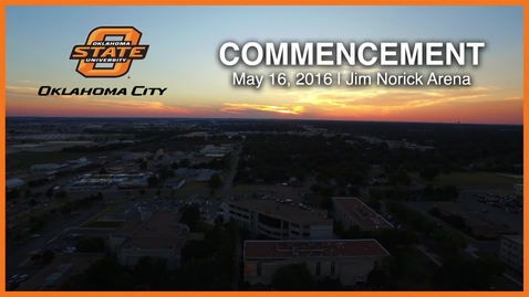 Thumbnail for entry REBROADCAST: OSU-OKC Commencement