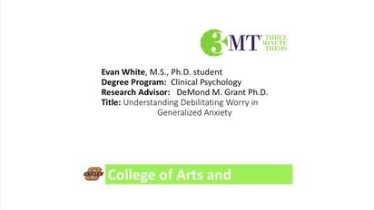 Understanding Generalized Anxiety >> Evan White Understanding Debilitating Worry In Generalized