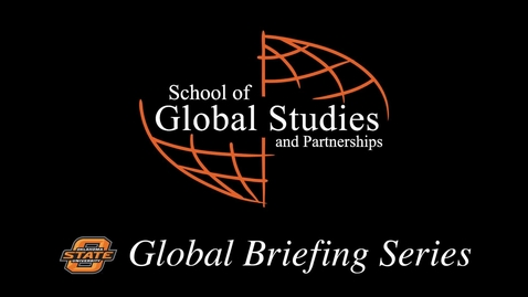 Thumbnail for entry Global Briefing Series: Angelika Arutyunova