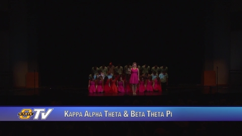 Thumbnail for entry Freshman Follies 2017:  Kappa Alpha Theta & Beta Theta Pi