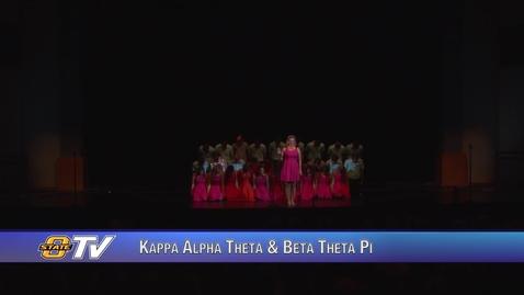 Thumbnail for entry Freshman Follies 2017:  Kappa Alpha Theta & Beta Theta Pi